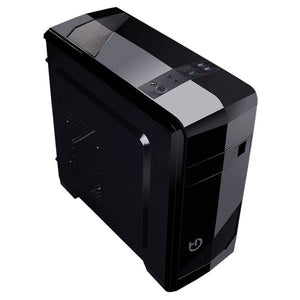 Mikro ATX mid-tower case Hiditec ATX M10 USB 3.0 Sort