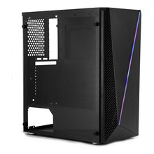 Indlæs billede til gallerivisning Mikro ATX/ATX-mid-tower case CoolBox Deep Abyss RGB LED - CYBERSHOP