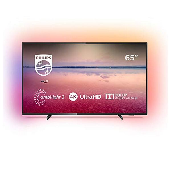 Smart TV Philips 65PUS6704 65'''' 4K Ultra HD LED WiFi Sort - CYBERSHOP
