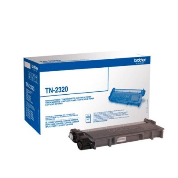 Original toner Brother TN2320 Sort - CYBERSHOP
