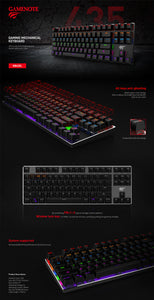Havit Gaming Mechanical Keyboard 87 Keys - CYBERSHOP