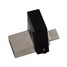 Indlæs billede til gallerivisning USB og Micro USB Memory Stick Kingston DTDUO3 32 GB USB 3.0 Sort Grå - CYBERSHOP