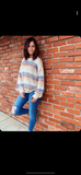 Long Sleeve Multi Stripe Sweater