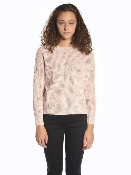 Round neck sweater tops