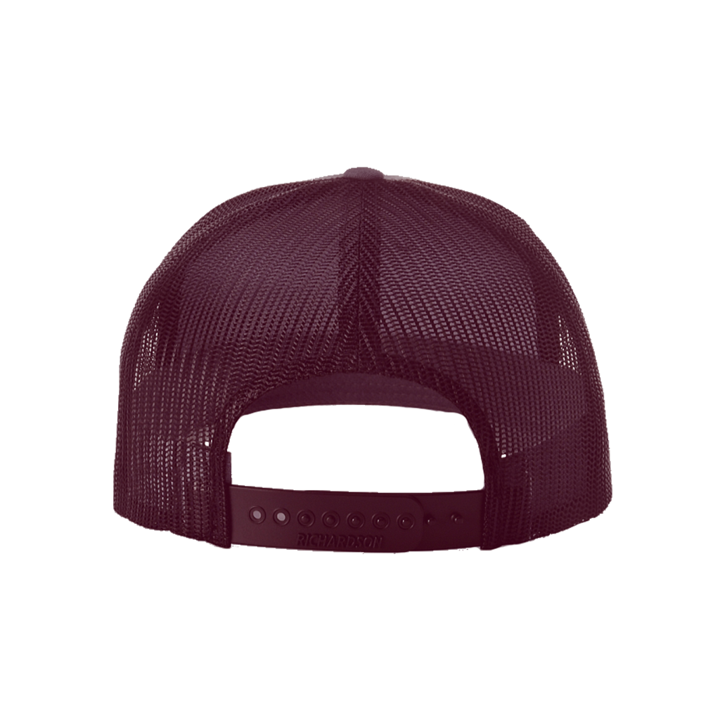 Burgundy Trucker Hat