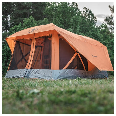 THE GAZELLE T4 PLUS HUB TENT WITH SCREEN ROOM