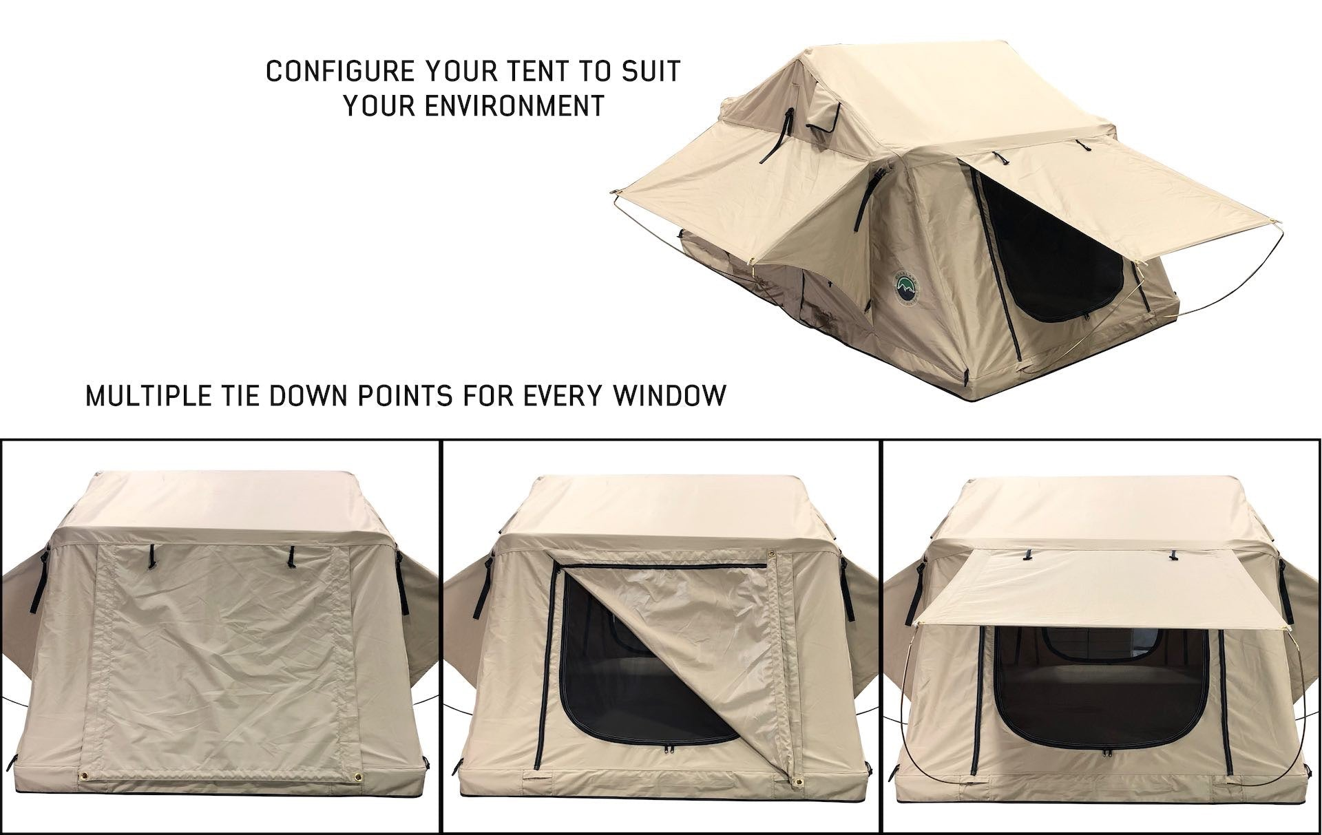 3 Person Roof Top Soft Shell Tent