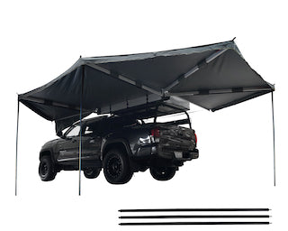 Nomadic Awning 270 (Driver or Passenger) Dark Gray Cover With Black Cover Universal