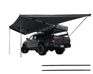 Nomadic Awning 4.5 with Black Cover