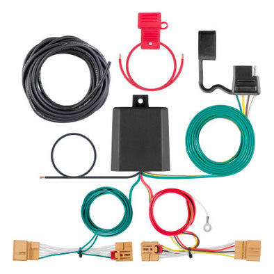 Curt Volkswagen Atlas Custom Wiring Harness (4-Way Flat Output)