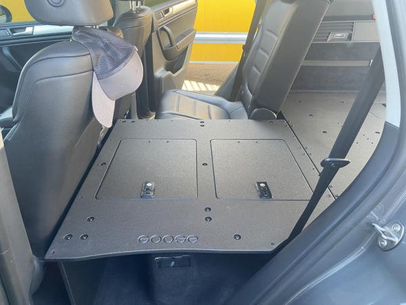VOLKSWAGEN TOUAREG SECOND ROW SEAT DELETES 2ND GEN 2011-2017