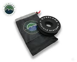 "Recovery Ring 6.25"" 45,000 lb. Black With Storage Bag Universal"