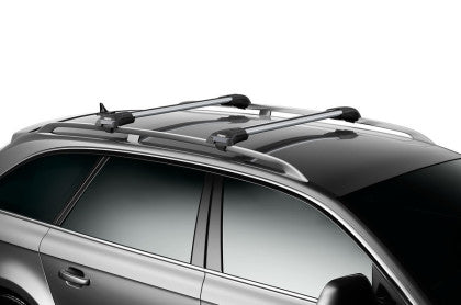Thule AeroBlade Edge L Load Bar for Raised Rails (Single Bar) - Silver