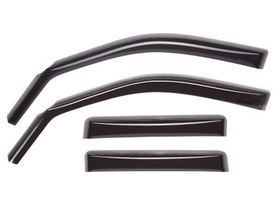 WeatherTech 09-13 Volkswagen Tiguan Front and Rear Side Window Deflectors - Dark Smoke