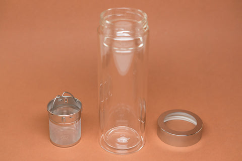 Infuser Glass Tumbler