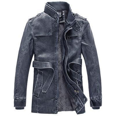 Casual Men's PU Leather Jackets