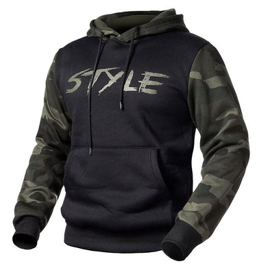 Men's Casual Camouflage Hoodie