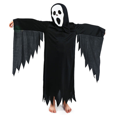 Halloween dresses Skeleton skeleton  Horror mask show set