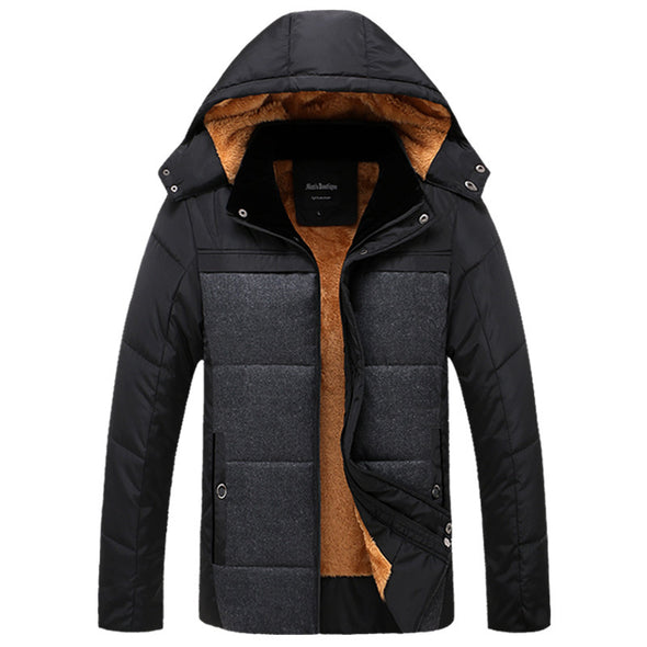 Winter Men's Quality Thermal Thick Coat