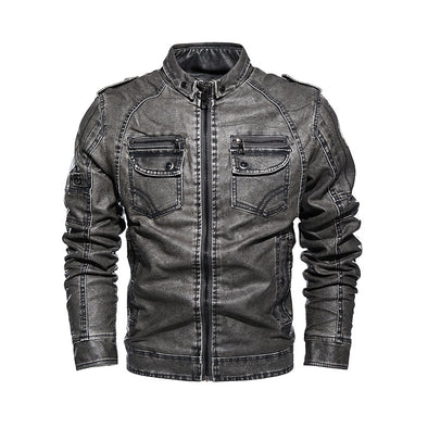 Men's Autumn Hot Sale Jacket Leather Jacket