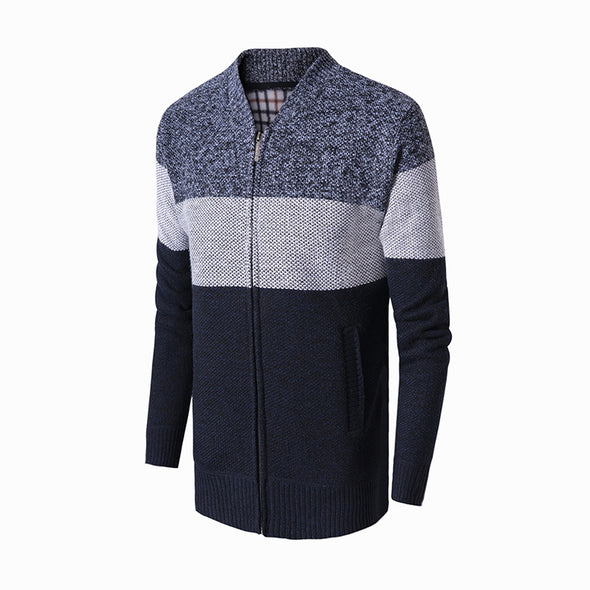 2020 Autumn  New Style Thick Warm Knitted Sweater For Men