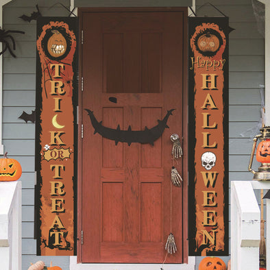Halloween couplet Ghost Festival outdoor decoration door couplet