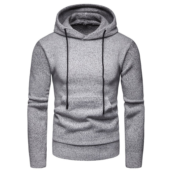 Men's Hoodie Fashion Solid Comfort Casual Sweater