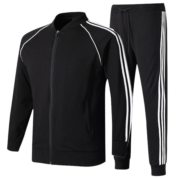 Spring And Autumn Set And Elderly Casual Wear Morning Running Sportswear