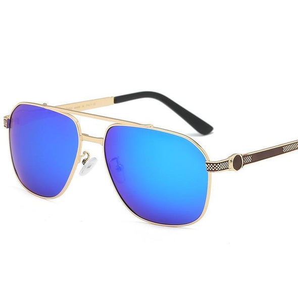 Manswears Fashion Trend Metal Sunglasses-3