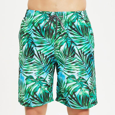 Summer Printed Beach Swim Board Shorts