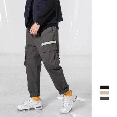 Solid Color Loose  Casual Harem Pants