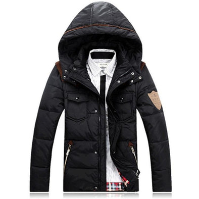 Fashion Hooded Down Jacket