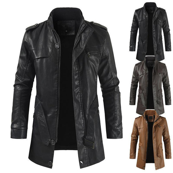 Men's Classic Motorcycle Leather Jackets