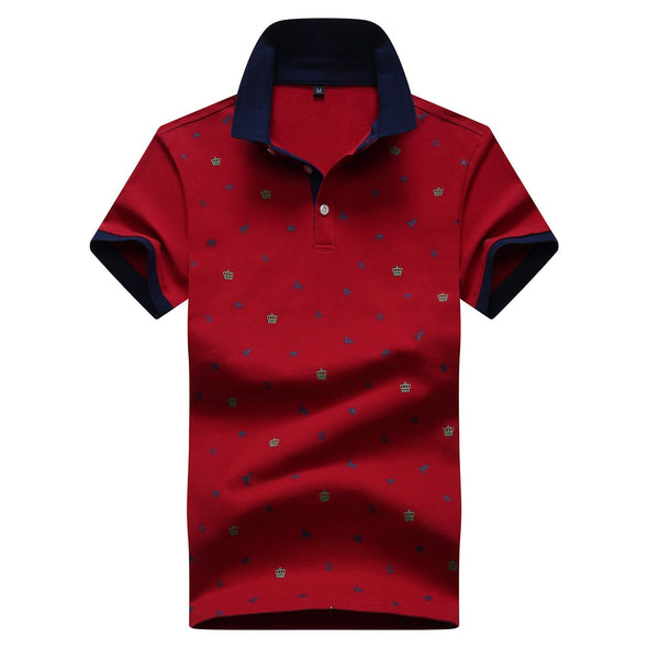 Summer New Lapel Trend Polo Shirt