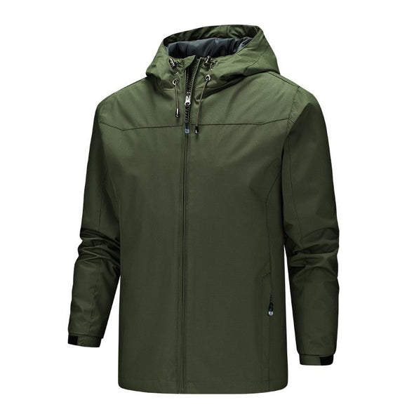 New Fashion Spring Autumn Outdoors Hooded Jacket