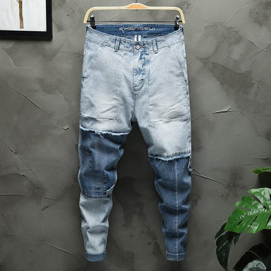 Jeans Ripped Hole Loose Hip-hop for Men