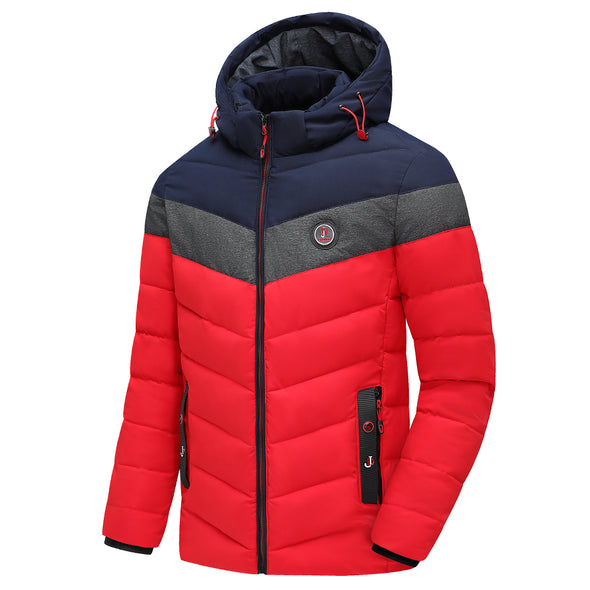 Men 2020 Winter Brand New Casual Warm Thick Waterproof Jacket