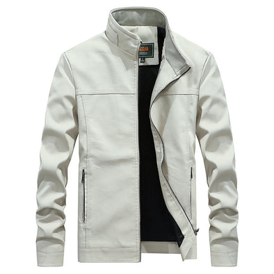 Men's Fashion PU Leather Jacket