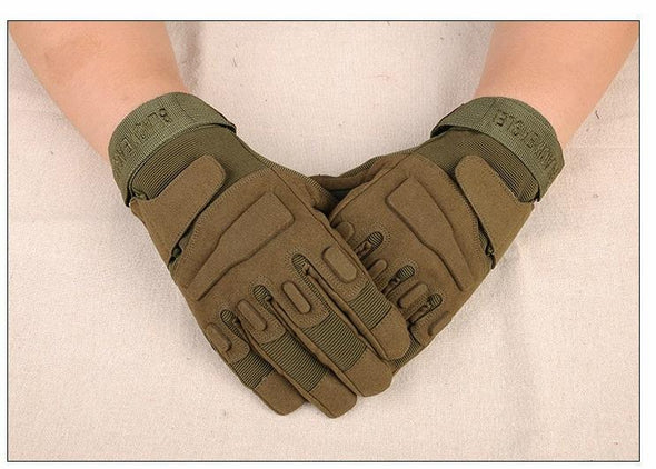 Mens Outdoor Sports Gloves Blackhawk Camping Military Tactical Motorcycle Gloves