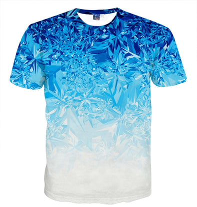 Men's Print T shirt 3D Slim Fit Breathable Comfortable