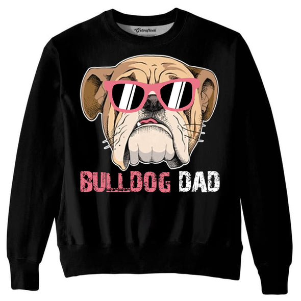 Men's Loose Streetwear Clothing Casual Pullover With Dog Pattern