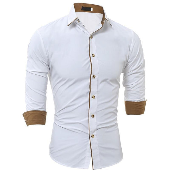 Fashion Slim Dress Shirts