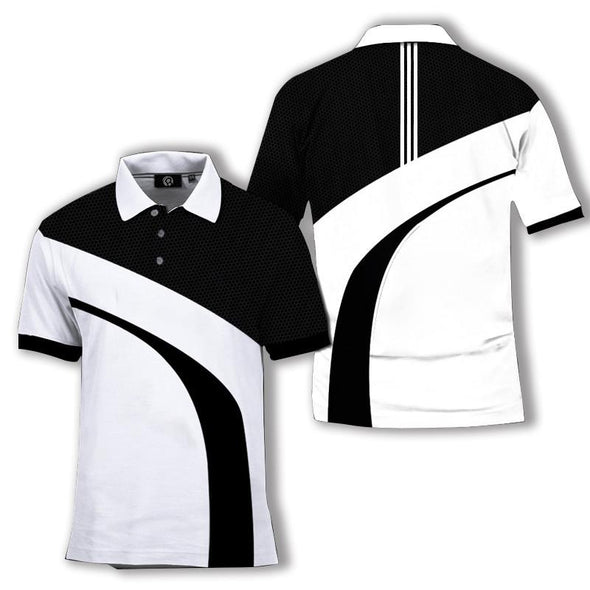Men's Breathable Short-Sleeve Quick Dry Polo