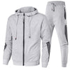 Men's Sportswear Ad Casual Comfortable Solid Hoodies Suit
