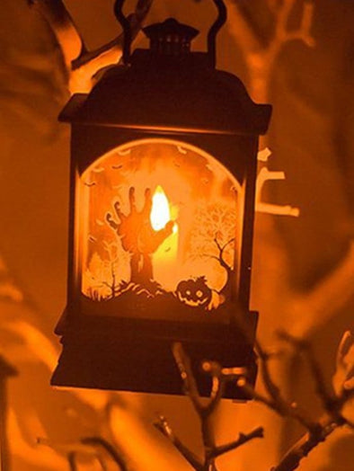Halloween Decoration Bar LED Candle Lantern