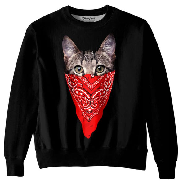 Men's 3D Print Hoodies Cat Fashion Casual Streetwear