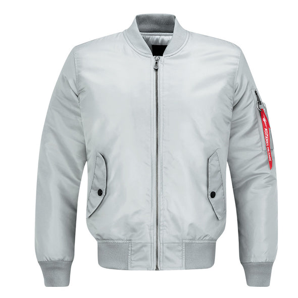 Men's Bomber Jacket Zipper Sportswear Fashion
