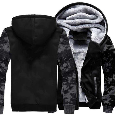 Men's Fleece Hoodies Comforable Streetwear Coat