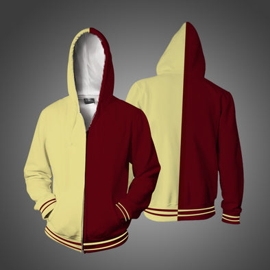New Men Block Color Casual Hoodies