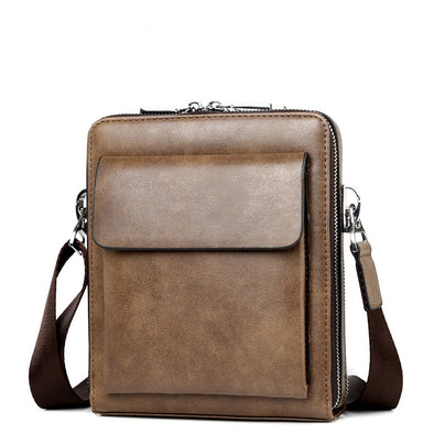 Men's  Casual Shoulder PU Bags